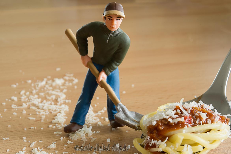 der Spaghetti-Schaufler