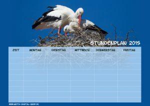 Stundenplan Storch