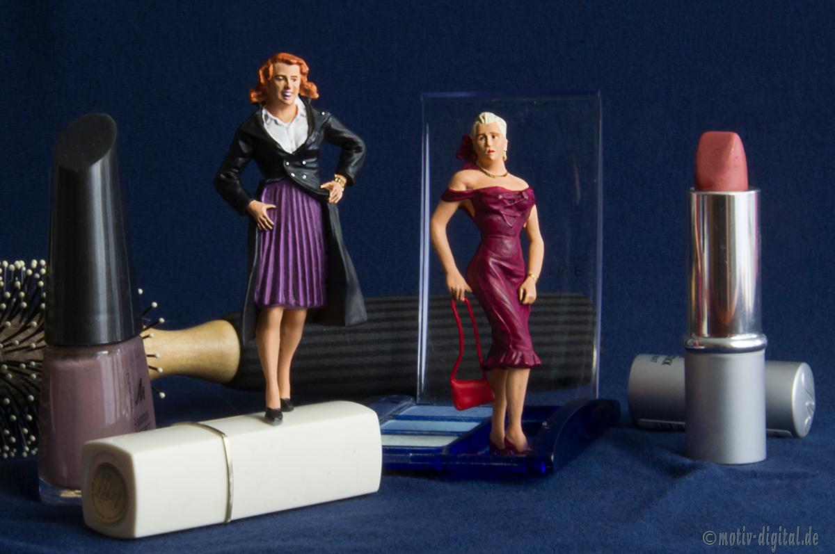 Studiofotografie - Miniaturwelten: die Super-Models