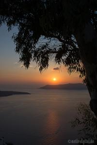 Sonnenuntergang Santorin